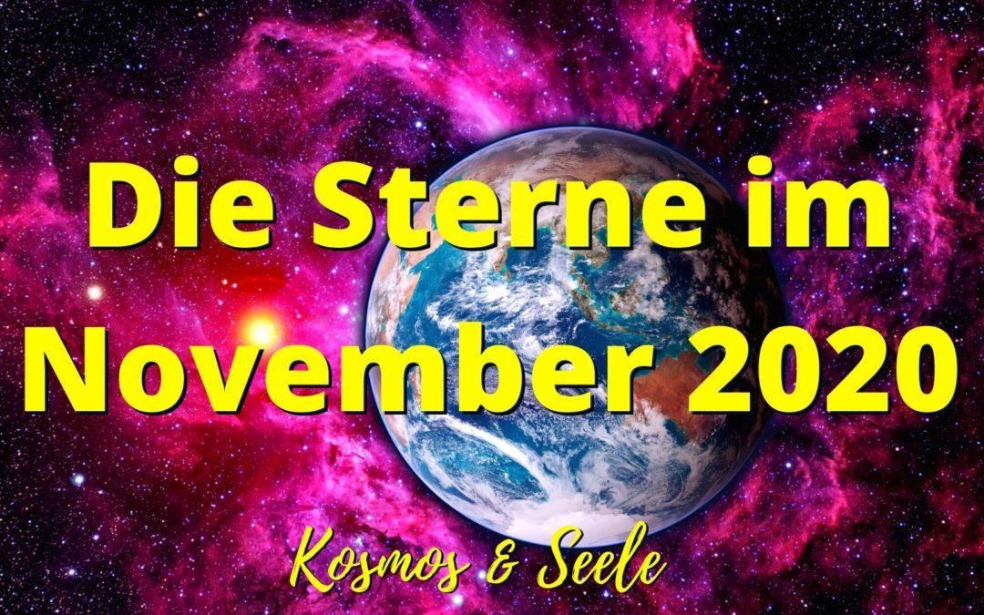 Die Sterne im November 2020
