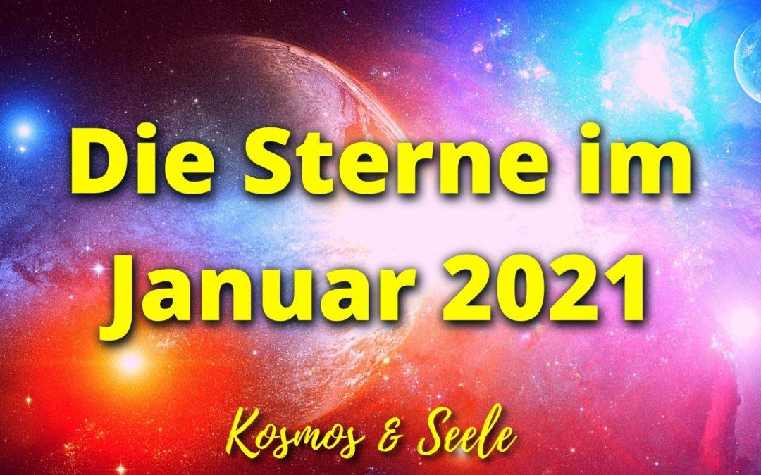 Die Sterne im Januar 2021