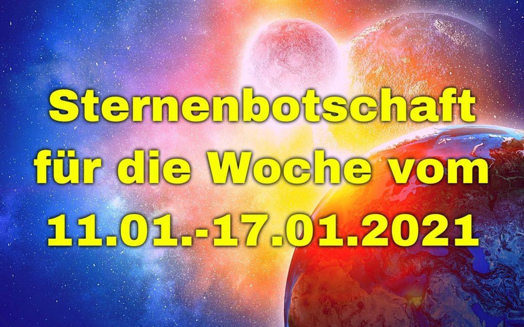 Sternenbotschaft für die Woche vom 11.01.-17.01.2021