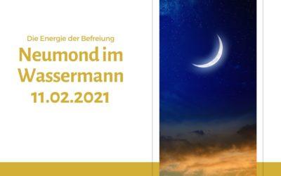 Neumond im Wassermann 11.02.2021