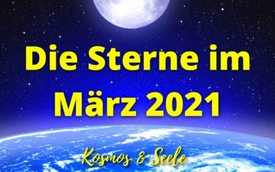 Die Sterne im März 2021