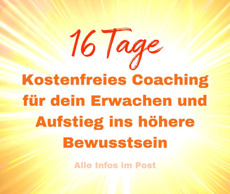 Gratis Cosmic Coaching zu den 16 Lichttor Portaltagen