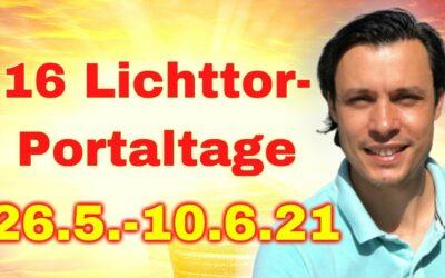 Die 16 Lichttor-Portaltage für deine Berufung vom 26.5-10.6.
