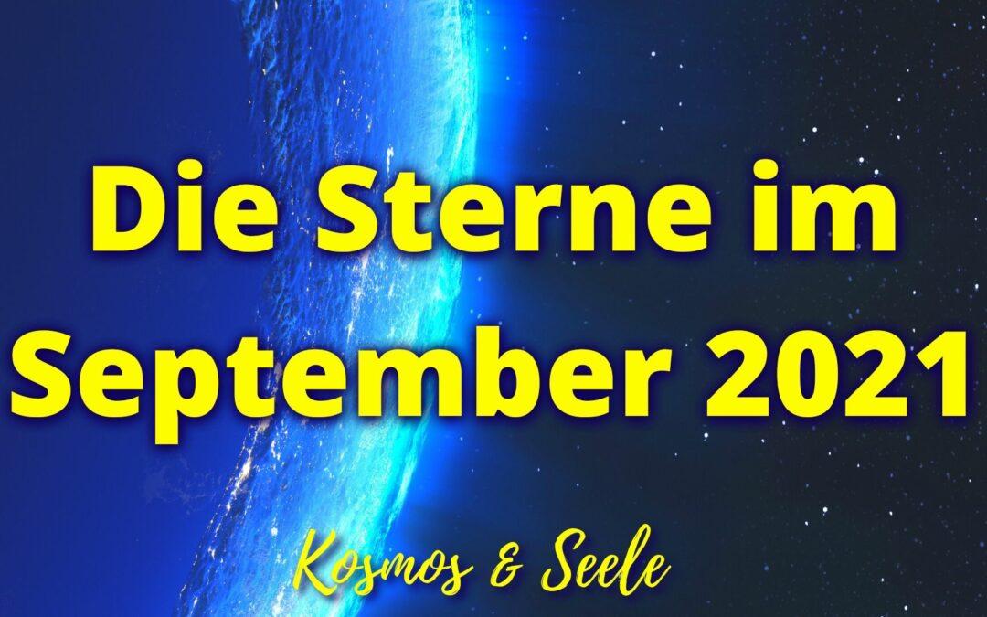Die Sterne im September 2021